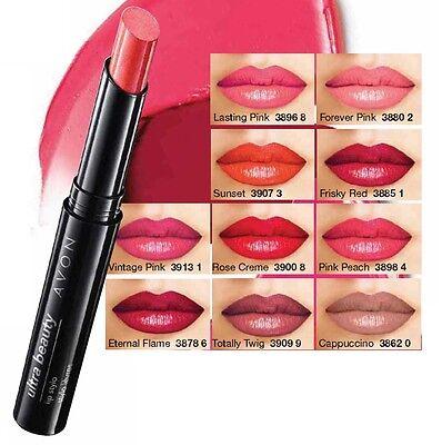 Avon Colour Ultra Beauty Lippenstift 1,8g - Langanhaltende Farbe Stift Ende
