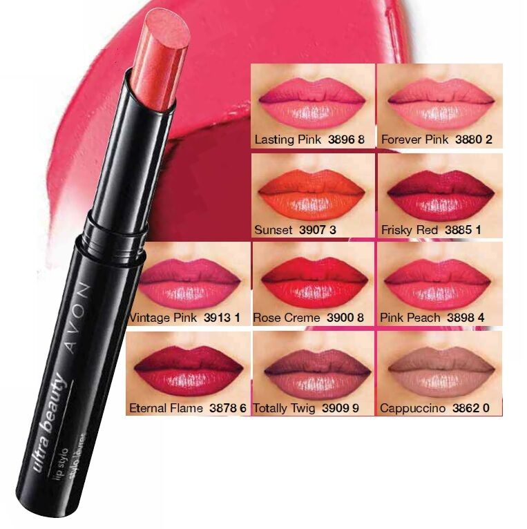 Avon Colour Ultra Beauty Lippenstift 1,8g - Langanhaltende Farbe