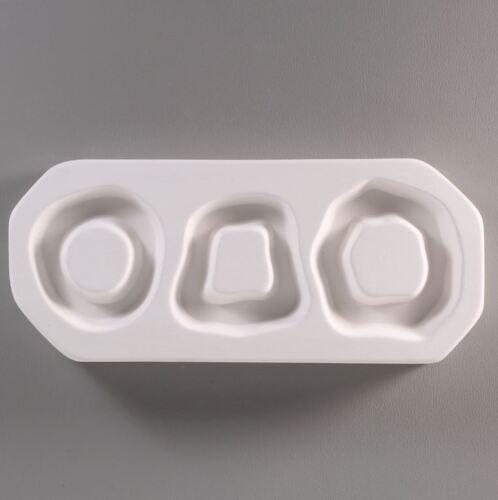 Organic Hoops Mold - Glass Fusing