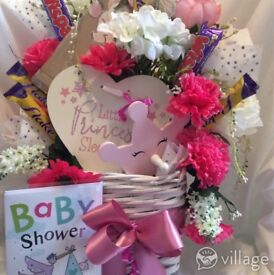 Super Sized Baby Shower or New Born Baby Gift Bouquets £36