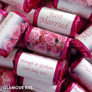 wedding favors and decorations personalised mini sweet wedding favours 9454