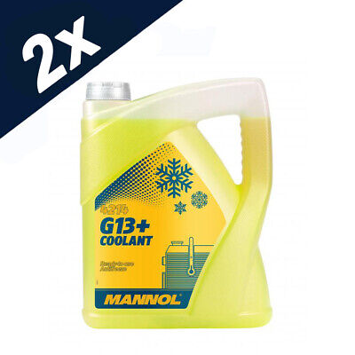 G13+ -30 10L READY FOR USE YELLOW ADVANCE ANTIFREEZE COOLANT German Hi Spec