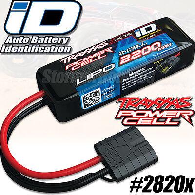 New Traxxas 2S 7.4V 2200mAh 25C LiPo Battery 1/16 E-Revo Slash 4X4 VXL # 2820X
