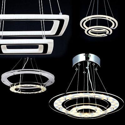 LED Deckenleuchte Deckenlampe Leuchte Lampe Beleuchtung Wohnzimmer Hngeleuchte