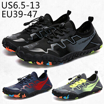 Men Water Shoes Non-slip Beach Sneakers Quick Dry Breathable Footwear Plus Size