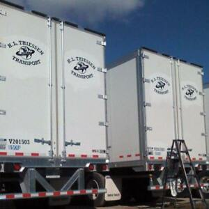 2 Reefer Trailers for sale