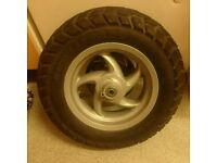 Piaggio typhoon front wheel