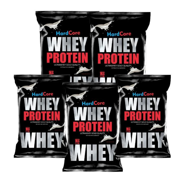 Whey Protein Hardcore Gold (Choose your pak of 1kg /2kg /3kg /5kg or 10 Kg!) 1