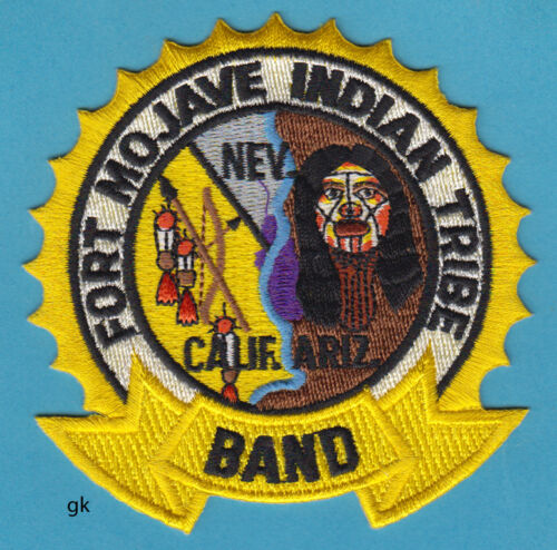 FORT MOJAVE INDIAN TRIBE TRIBAL MARCHING BAND PATCH CALIFORNIA ARIZONA NEVADA
