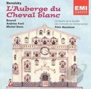 CD de Benatzky  L'auberge du Cheval Blanc