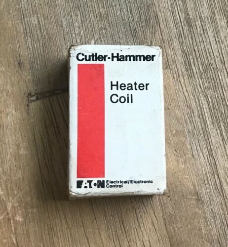 CUTLER HAMMER H1222 HEATER COIL OVERLOAD RELAY ELEMENT NEW IN BOX