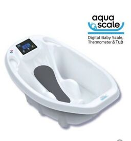 Electronic baby bath / scales