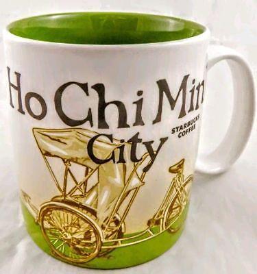 Starbucks HO CHI MINH CITY, VIETNAM (Global Icon series) 3 oz Mug Ornament NEW