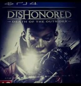 Dishonoured death of the outsider PS4