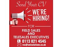 Field Sales / Telesales Executives Basic + Commission immediate start