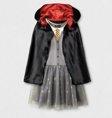 Harry Potter Hermione Halloween Costume (Harry Potter Hermione Granger HALLOWEEN Costume Gryffindor Dress & Cloak M)
