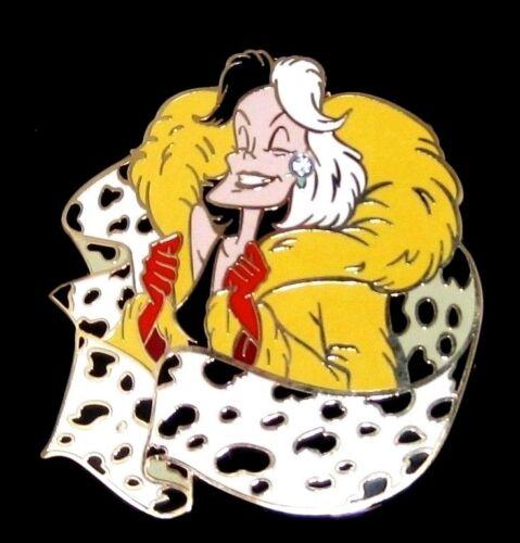 Cruella DeVil LE 125 Disney Pin ✿ Diva Evil Villain 101 Dalmatians Dogs RARE