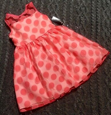 ~George~Girls' EASTER Special Occasion Coral/Peach/Party Dress SZ: 8~NEW (Occasion Dresses Girls)