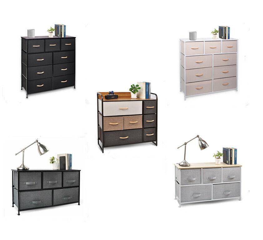 multi drawers dresser bedroom organizer high storage