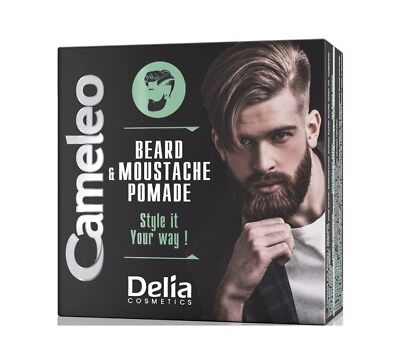 Men Care New Product Beard & Moustache Pomade with Argan Oil Keep desired