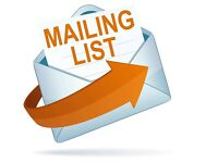 MAILING LISTS service - Dance Music Record Labels and DJs
