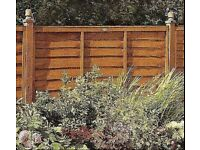 10 X Fence Panels at 6' feet wide x 3' feet, high Brand new !