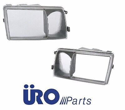 - NEW Left+Right 2 Front Headlight Door Fog Light Lens Cover Set 4-For MB S CLASS