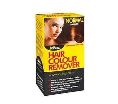 BEST PRICE! JOBAZ HAIR COLOUR REMOVER NORMAL STRENGTH 60ML
