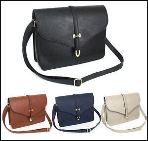 LADIES-Stylish-Shoulder-Bag-NEW-Casual-Tote-Handbag-PURSE-171-4Color