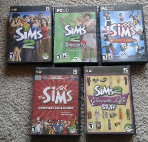 The Sims PC Games