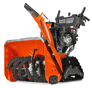 TRACK SNOWBLOWER CLEAROUT