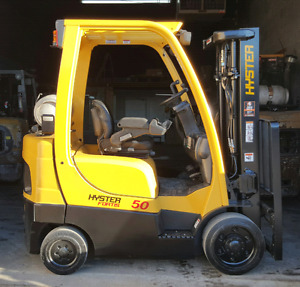 Chariot elevateur hyster 5000 , Forklift with warranty