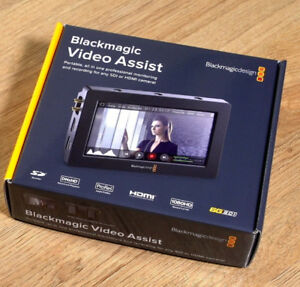 BLACKMAGIC DESIGN VIDEO ASSIST - Brand New ! Save $130