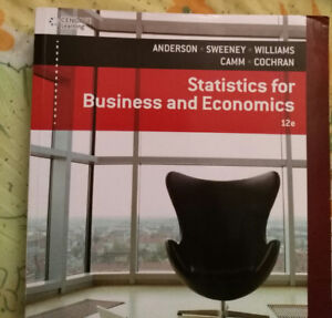 Statistics for Business and Economics 12th edition BAB210