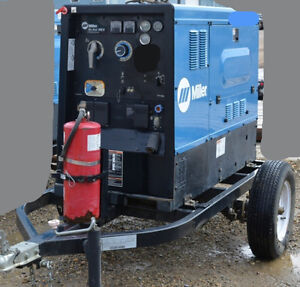NICE DEAL MILLER BIG BLUE 500D- HD DC WELDER GENERATOR