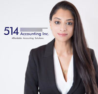 BEHIND ON TAXES OR BOOKKEEPING? WE CAN HELP! 514 712-3851