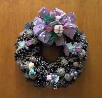 Handcrafted Pine Cone Wreath