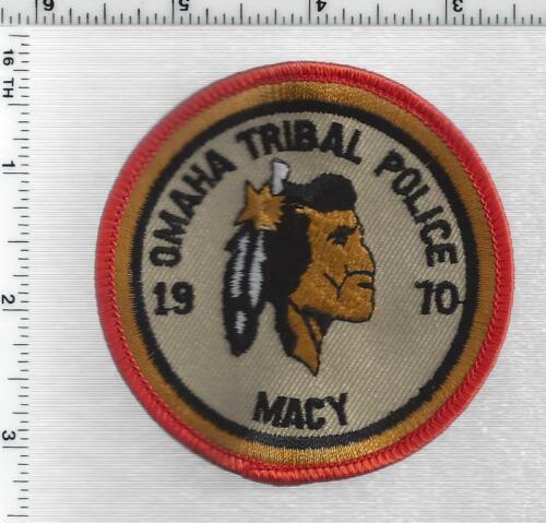 Omaha Tribal Police (Nebraska) 1st Issue Shoulder Patch