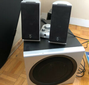 Logitech z2300 2.1 speakers