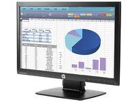"Brand New HP ProDisplay 20"" LED Monitor - VGA & DisplayPort"