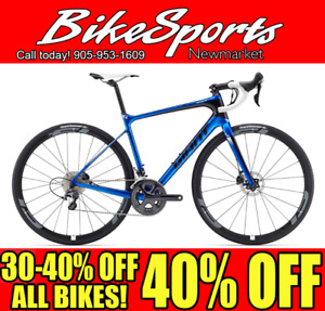 30% Off All 2017 Giant & Specialized Road Bikes!