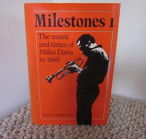 MILES DAVIS - Milestones Vol.1 *The Beginning to 1960* - HRD CVR Kitchener / Waterloo Kitchener Area image 1