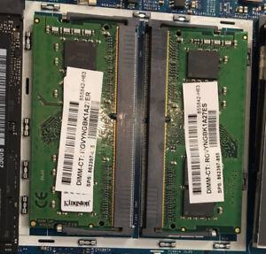 8GB (2x4) DDR4 2400Mhz Laptop RAM
