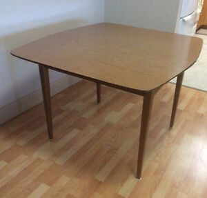 Solid Wooden Table (Mid Century)