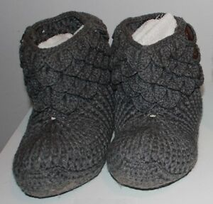 size 12 13 14 15 men slippers handmade crochetted knitted !! West Island Greater Montréal image 2