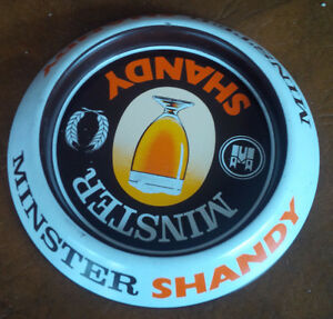 Minster Shandy Beer Metal Ash Tray or Tray