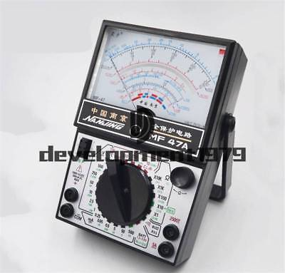 Mf47a Voltage Ohm Amp Ac Dc Battery Tester Meter Gauge Analog Multimeter