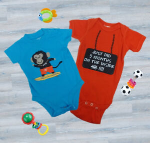 (34) Boys clothes sizes 0-24 months