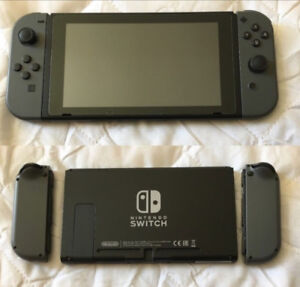 Nintendo Switch (Mint Condition)+ 2 Games + 128 GB Micro SD Card