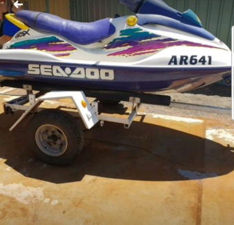 Seadoo GSX 800cc Jetski and trailer Wedgefield Port Hedland Area Preview